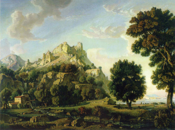 Константин Богаевский. Крымский пейзаж