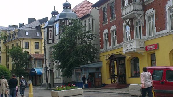 Обновляющийся Курортный проспект Зеленоградска