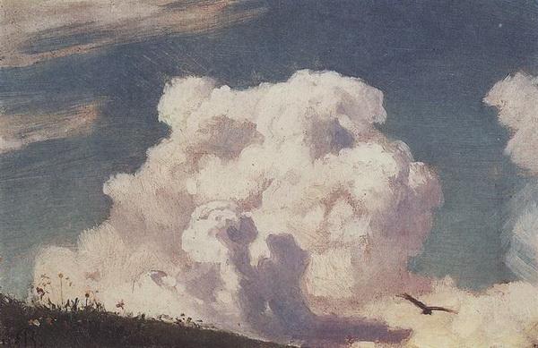 Аполлинарий Васнецов. Облака. 1880-е