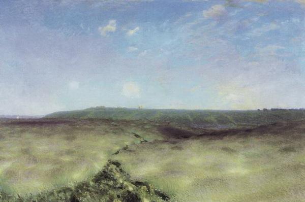 Аполлинарий Васнецов. Волнующаяся нива. 1892