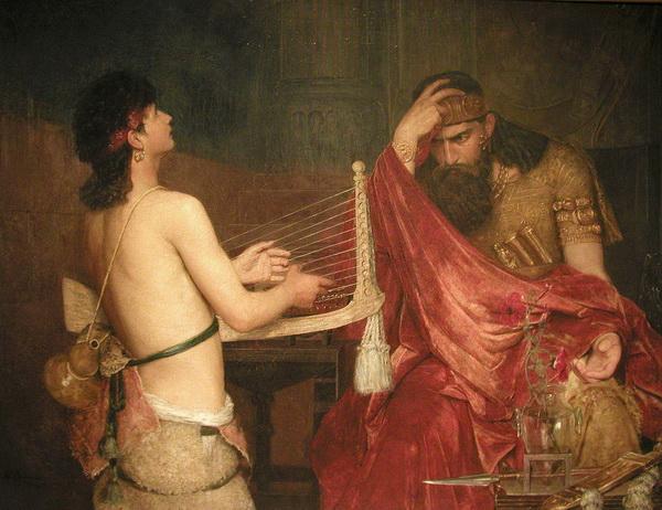 Рембрандт. Саул и Давид