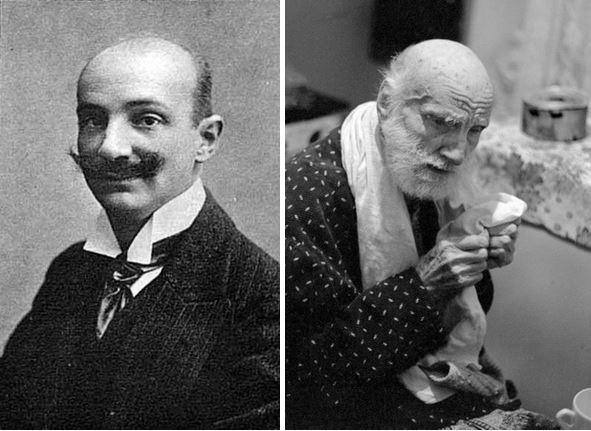 Василий Витальевич Шульгин фото 1910 и 1976 годов