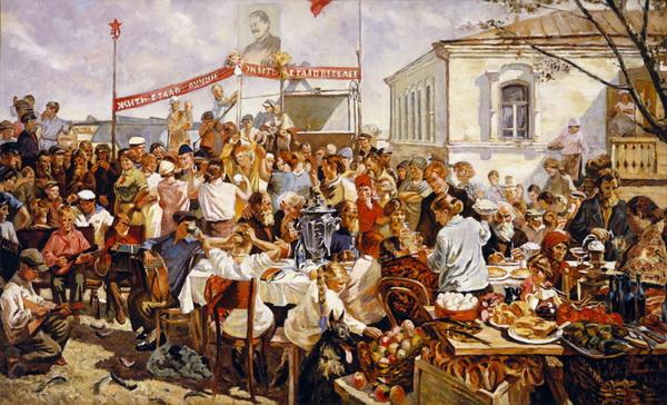 Аркадий Пластов. Колхозный праздник
