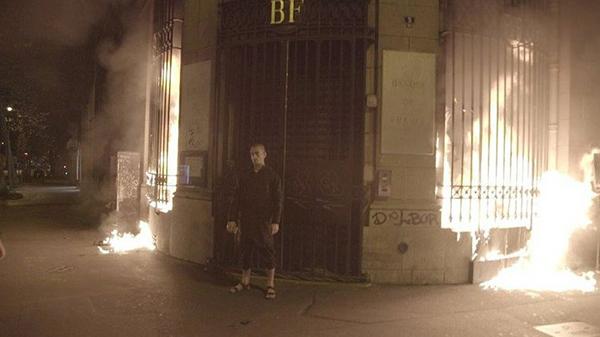 Петр Павленский в Париже
