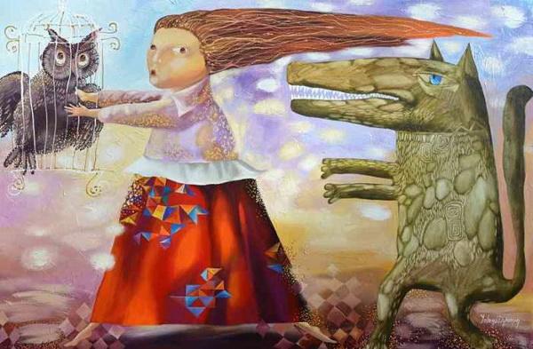 Картина Елены Дюминой