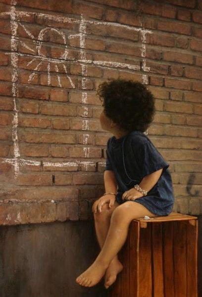 Иранский художник Иман Малеки