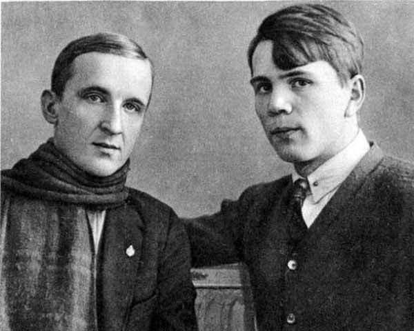 Григорий Черных (Григорий Белых) и Леонид Пантелеев (Алексей Еремеев). 1930 год