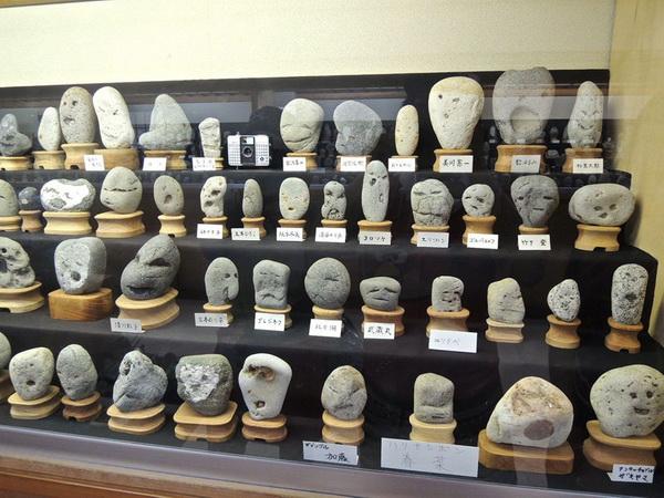 Музей камней с человеческими лицами. Титибу. Япония