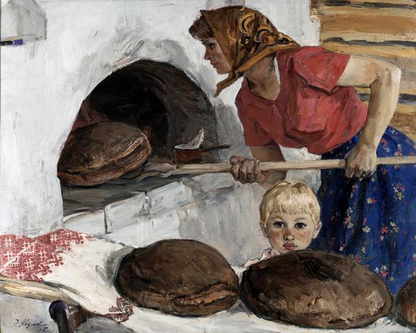Козлов Энгельс Васильевич. Выпечка хлеба