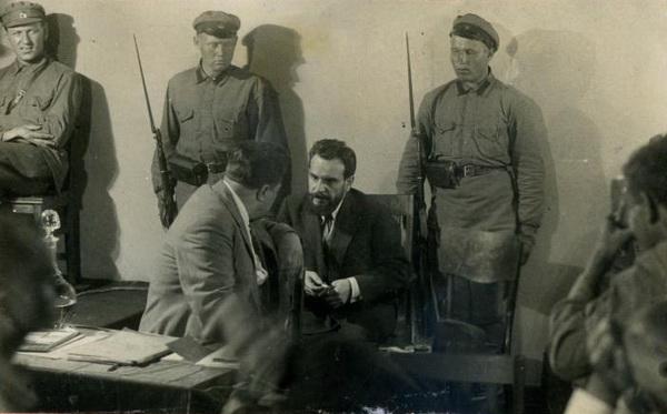 Сергей Михайлович Дружиловский (Дружеловский) на процессе