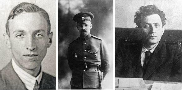 Николай Николаевич Крошко, Владимир Григорьевич Орлов, Григорий Евсеевич Зиновьев