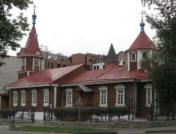 Церковь Покрова Пресвятой Богородицы в Новосибирске, современный вид.