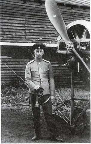 Капитан Михаил Гордеевич Дроздовский. Севастопольская авиационная школа. 1913 год