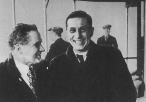 Михаил Зощенко и Юрий Олеша