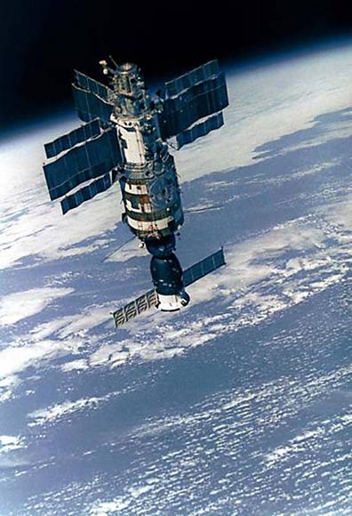 Советская орбитальная станция Салют
