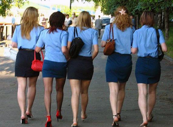 Девушки из милиции