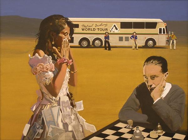 Питер Блейк. Игра в шахматы с Трейси