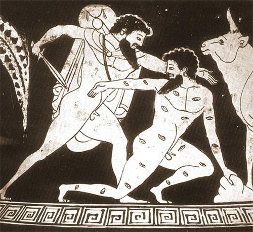 Гермес убивает Аргуса