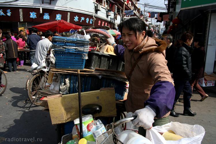 China, Shanghai, Шанхайский рынок
