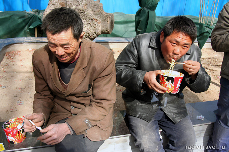 лапша, жизнь китайцев