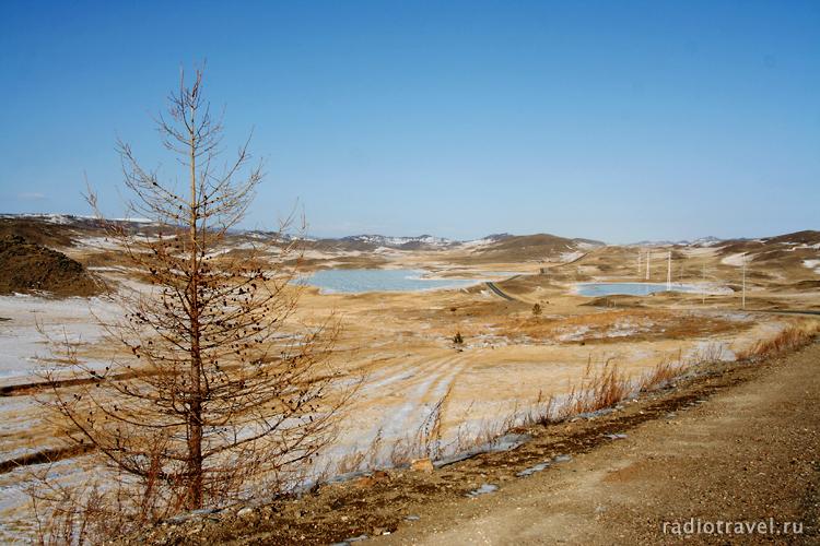 Соленые озера, прибайкалье