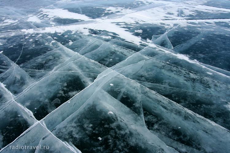 Байкальский лед, остров Ольхон