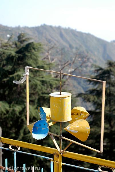 молитвенные колеса, Дарамсала