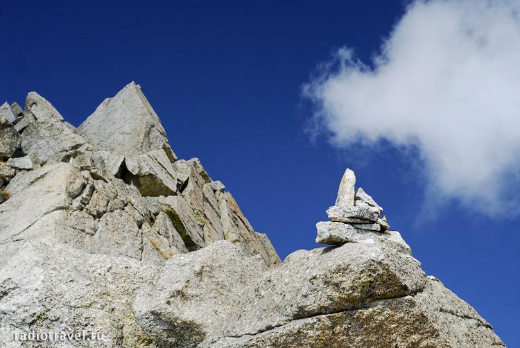 Шива лингам, перевал Индрахар