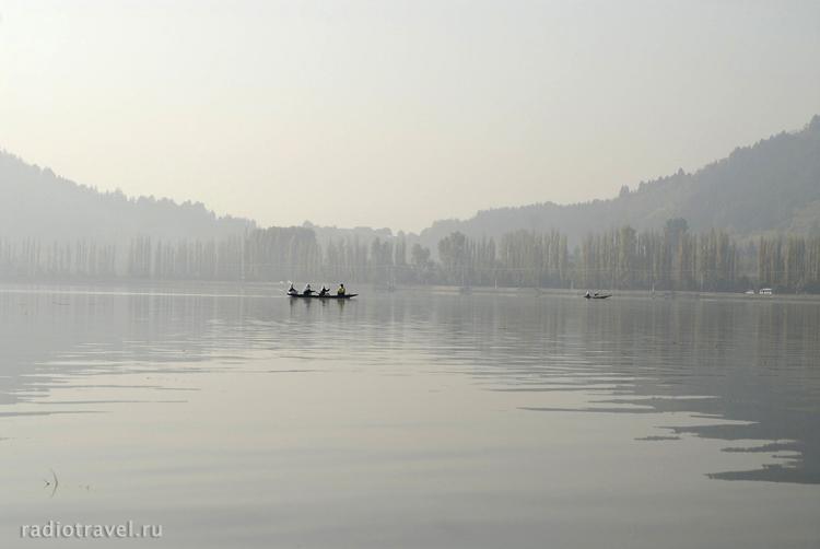 озеро Дал Лейк, Шринагар