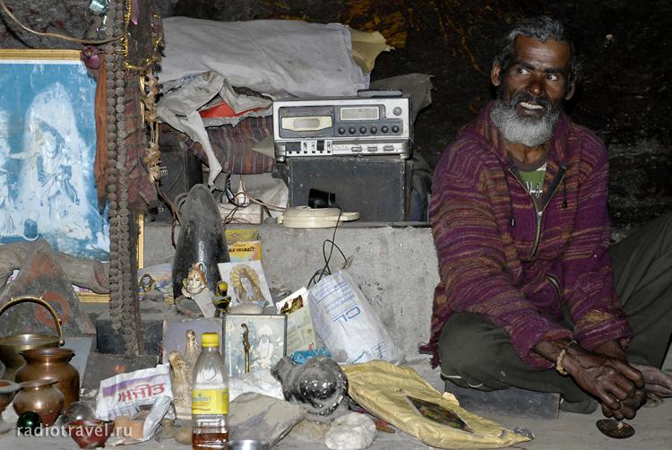 индийский отшельник, шиваит, баба