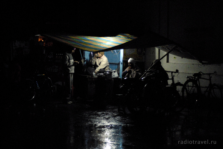 Варанаси ночной, Индия