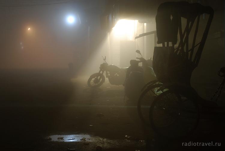 Варанаси, Индия, ночь