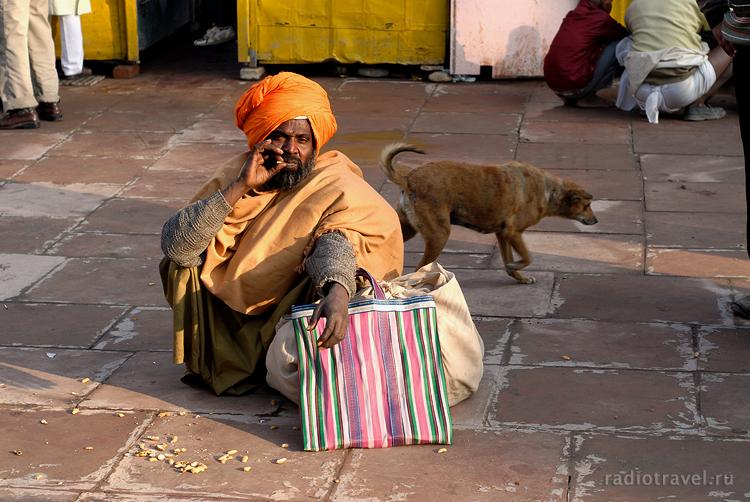 Харидвар, Кумбха Мела, саду, Индия