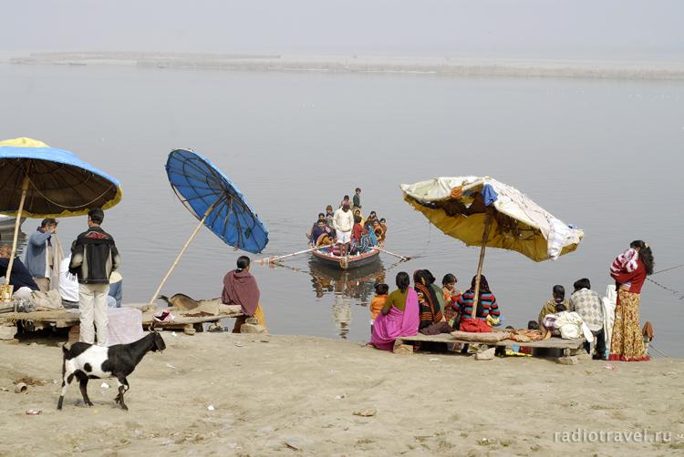 и снова Ганг, Индия