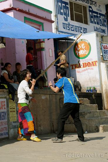Корейцы в Варанаси