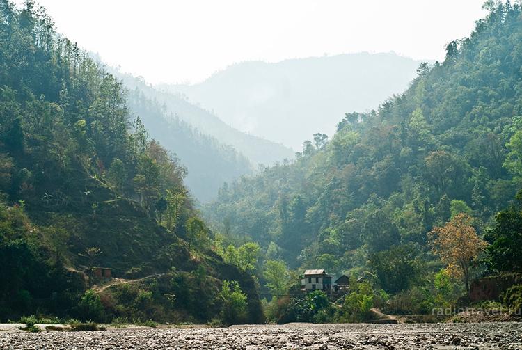 под Тансеном (Непал)