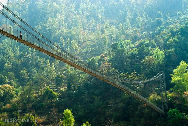 Самый длинный подвесной мост