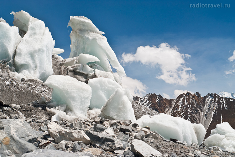 ЛангТанг, ледник на треке