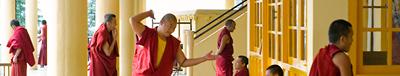 tibetskie monahi