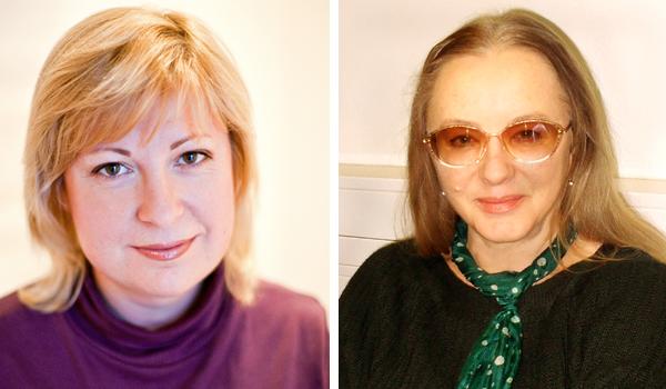 Ольга Погодина-Кузмина и Елена Шубина