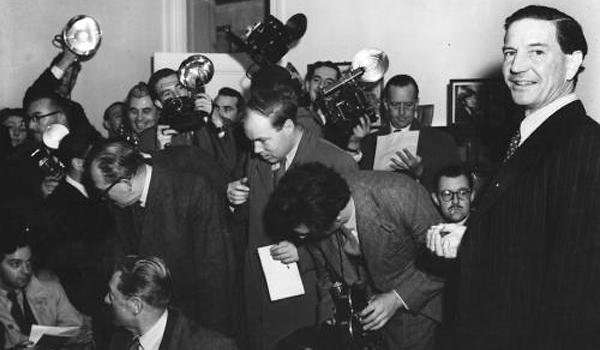 Ким Филби. Пресс-конференция. 1955 год