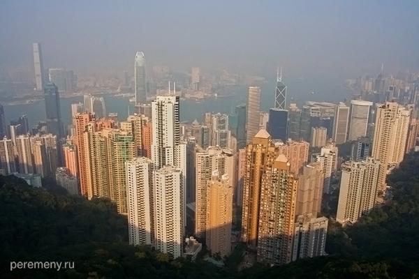 Гонконг, вид с пика Виктории