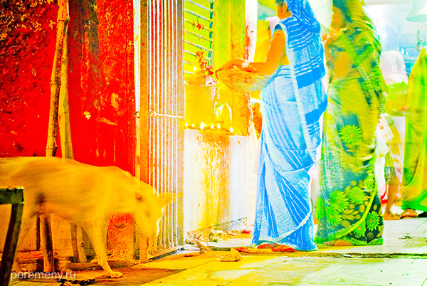 Варанаси, Индия, фото и текст - Кай