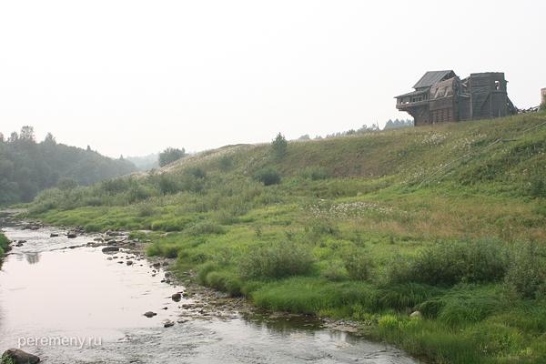 Предтеча. Река Толшма