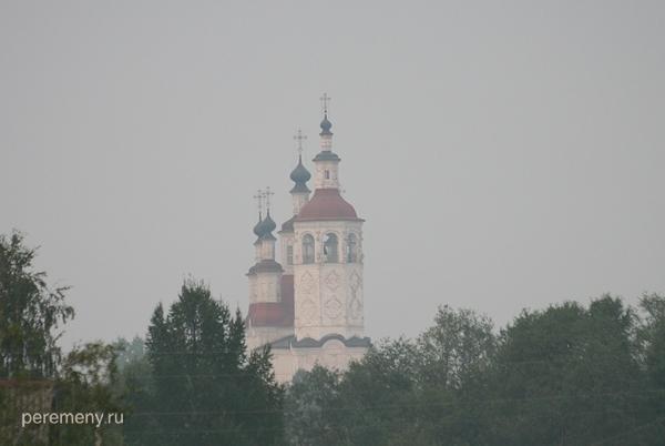 Тотьма. Входо-иерусалимская церковь