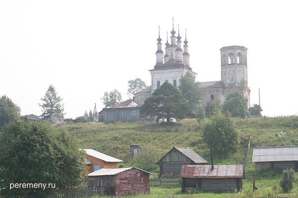 Тотьма. Воскресенская церковь на Варницах