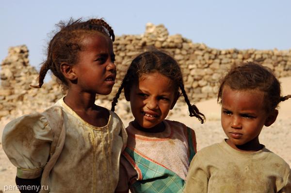 Дети (а не пирамиды) - главное богатство Судана