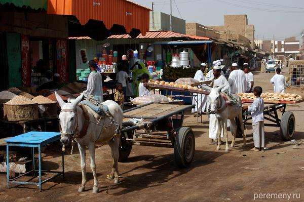 Суданские рынки - средоточие жизни страны