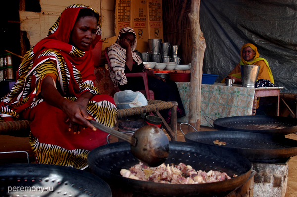 Овечий рынок - лучшее место для дегустации свежайшей баранины